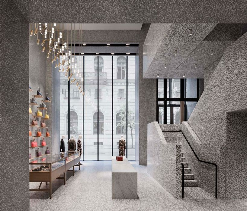 valentino flagship store in new york by david chipperfield | Retail  interior, Retail design, Shop interior design