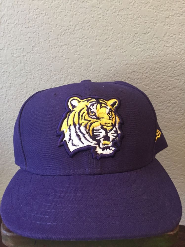 New Era 59FIFTY LSU Tigers NCAA Fitted Cap Hat Size 7 3 4  NewEra  BallCap 44654aa4aae5
