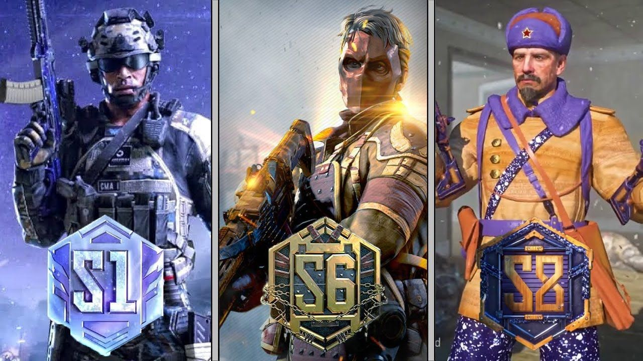 Evolution Of Ranked Series In Call Of Duty Mobile Season 1 Season 8 Trailers Youtube Call Of Duty Call Of Duty Mobile Season 8