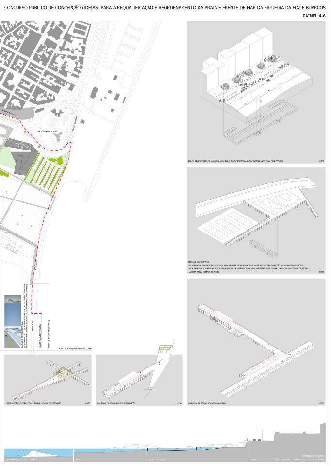 FIGUEIRA DA DOZ - PUBLIC COMPETITION - Project presentation board - #noarq #competition by José Carlos Nunes de Oliveira - © NOARQ