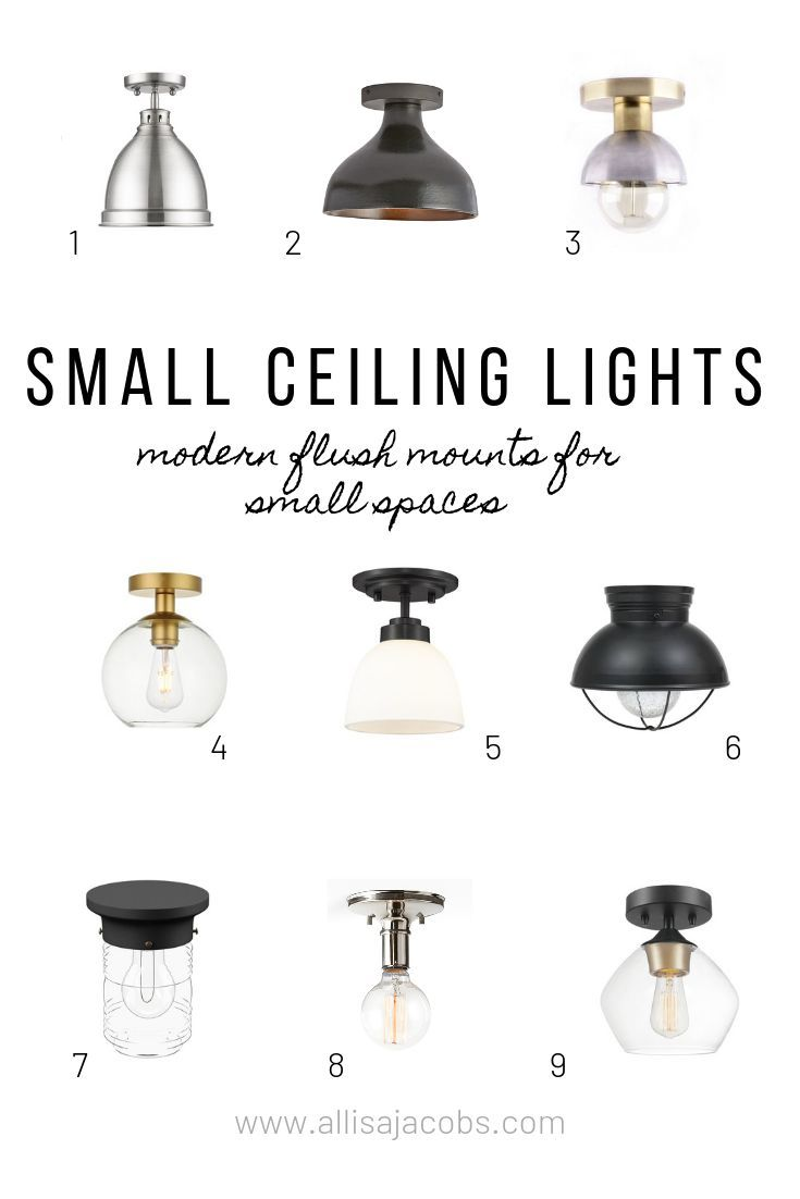 9 Modern And Adorable Ceiling Lights For Small Spaces Ceiling