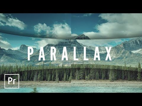 Parallax Style Intro and Transition Video Effects Premiere