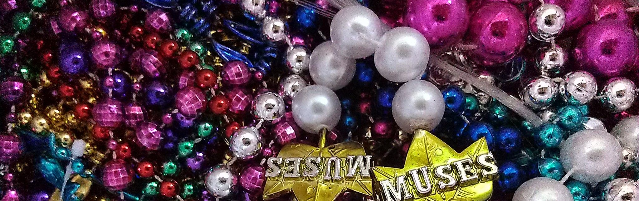 Things to do with mardi gras beads fantastic ideas nola upgrade your chandelier send out mardi gras care packages create a sparkly wreath pictures of all these ideas plus many many more arubaitofo Choice Image