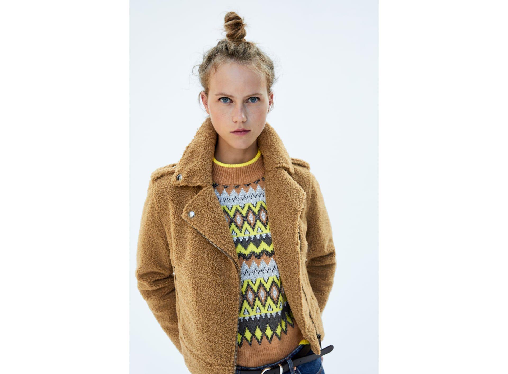 FAUX FUR BIKER JACKET Jackets for women, Stylish jackets