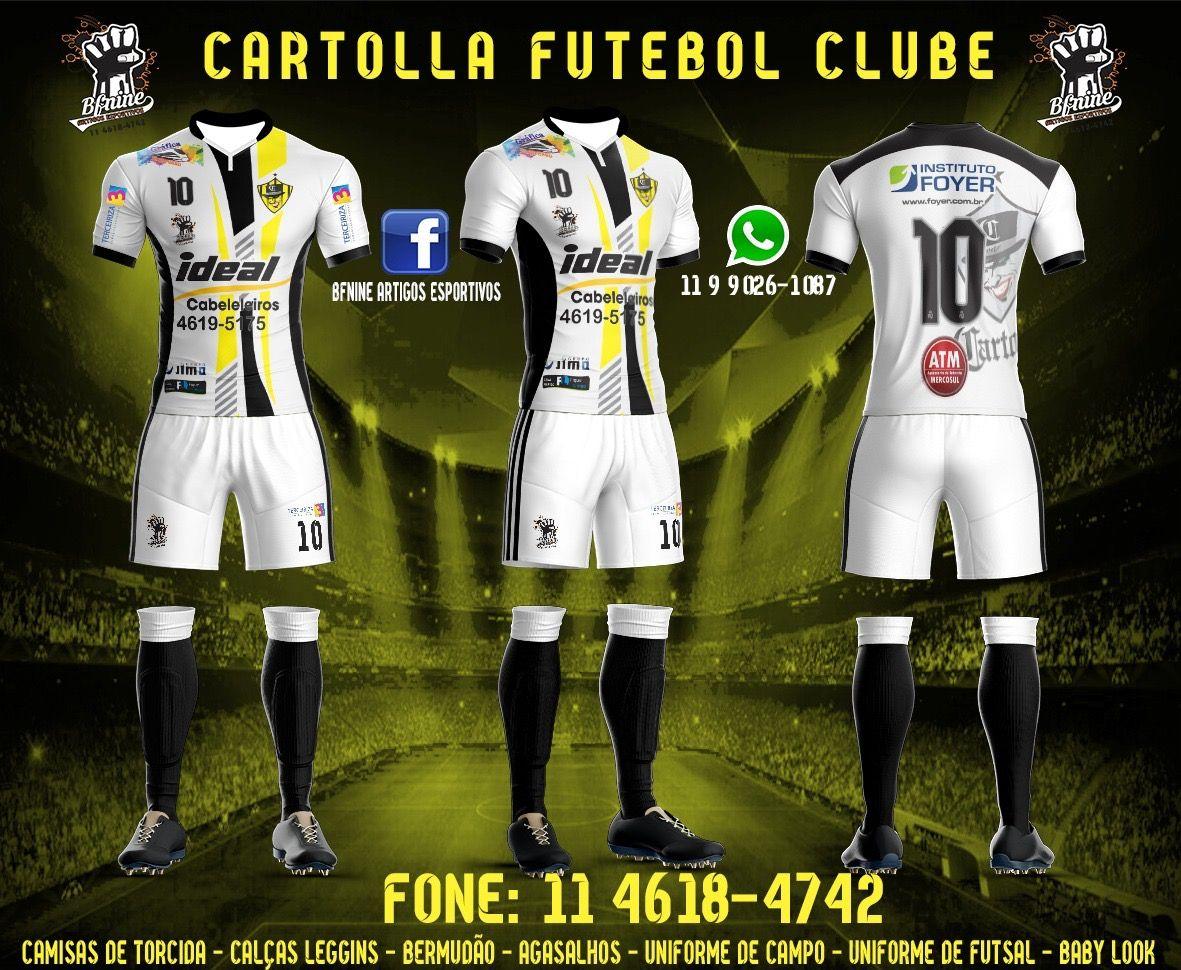 Uniforme(2) Cartola FC para a equipe futsal  ad50bb344ea54