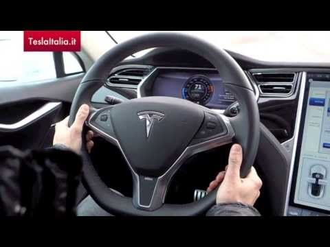 Test Drive della Tesla Model S by TeslaItalia.it - Paolo Vanzetto con Federico Lagni