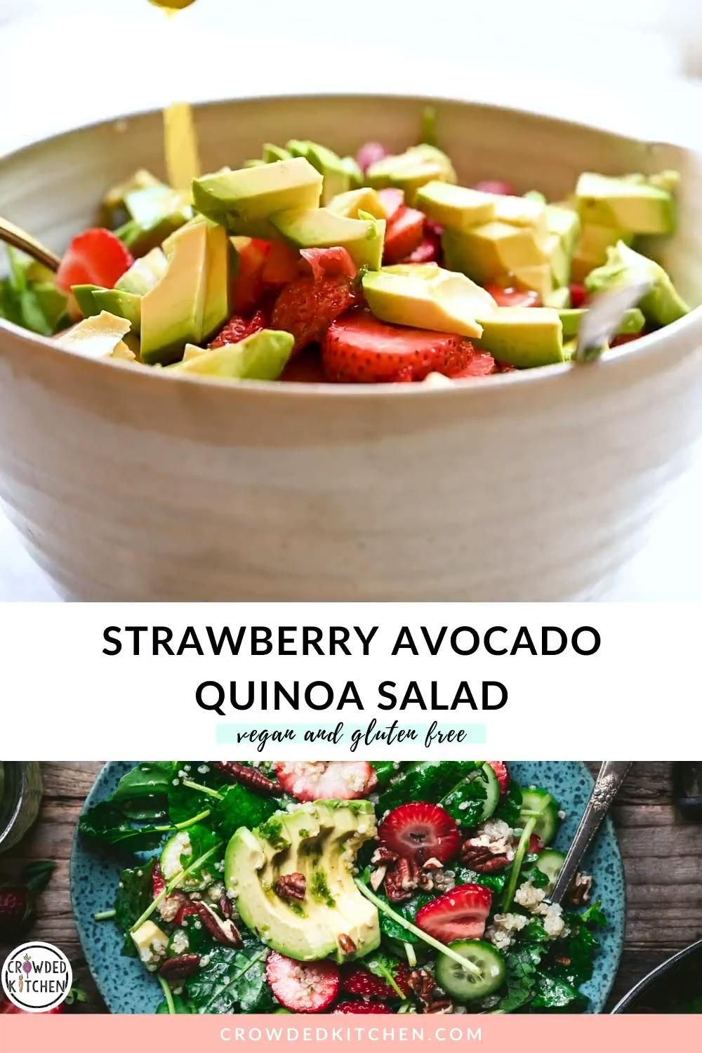 Strawberry Avocado Quinoa Salad