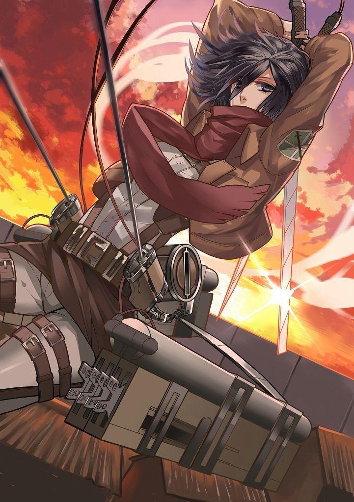 Mikasa Ackerman Attack On Titan Shingeki No Kyojin Follow Our Pinterest For More Anime Daily Titas Anime Animes Wallpapers Personagens De Anime