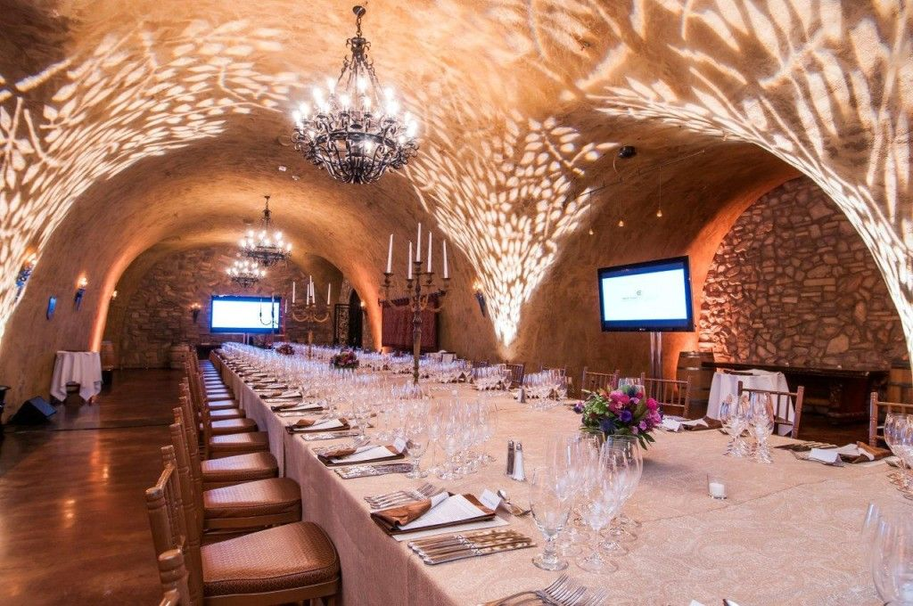 How About Dinner In A Cave Meritage Resort In Napa Wine Cave