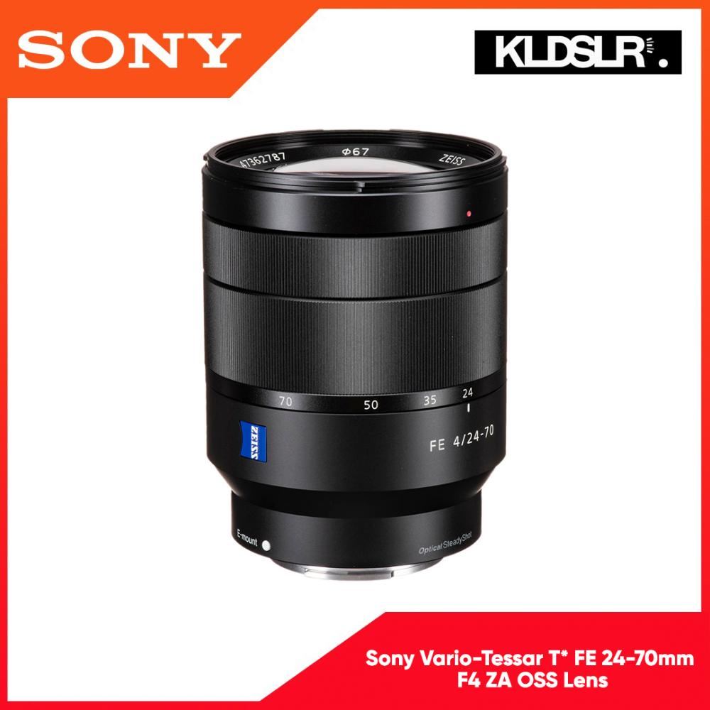 Sony 24 70mm F 4 Vario Tessar T Fe Za Oss Lens The Sony Vario Tessar T Fe 24 70mm F 4 Za Oss Lens Is A Wide Angle To Portrait Length Zoom Oss Lens Zoom Lens