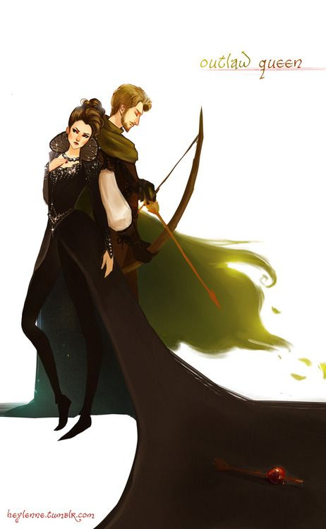 Outlaw Queen... Whoever made this I love you