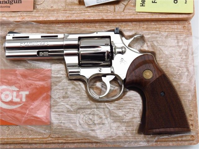 """1977 Colt Python 4""""Save those thumbs & bucks w/ free shipping on this magloader I purchased mine http://www.amazon.com/shops/raeind  No more leaving the last round out because it is too hard to get in. And you will load them faster and easier, to maximize your shooting enjoyment.  loader does it all easily, painlessly, and perfectly reliably"""