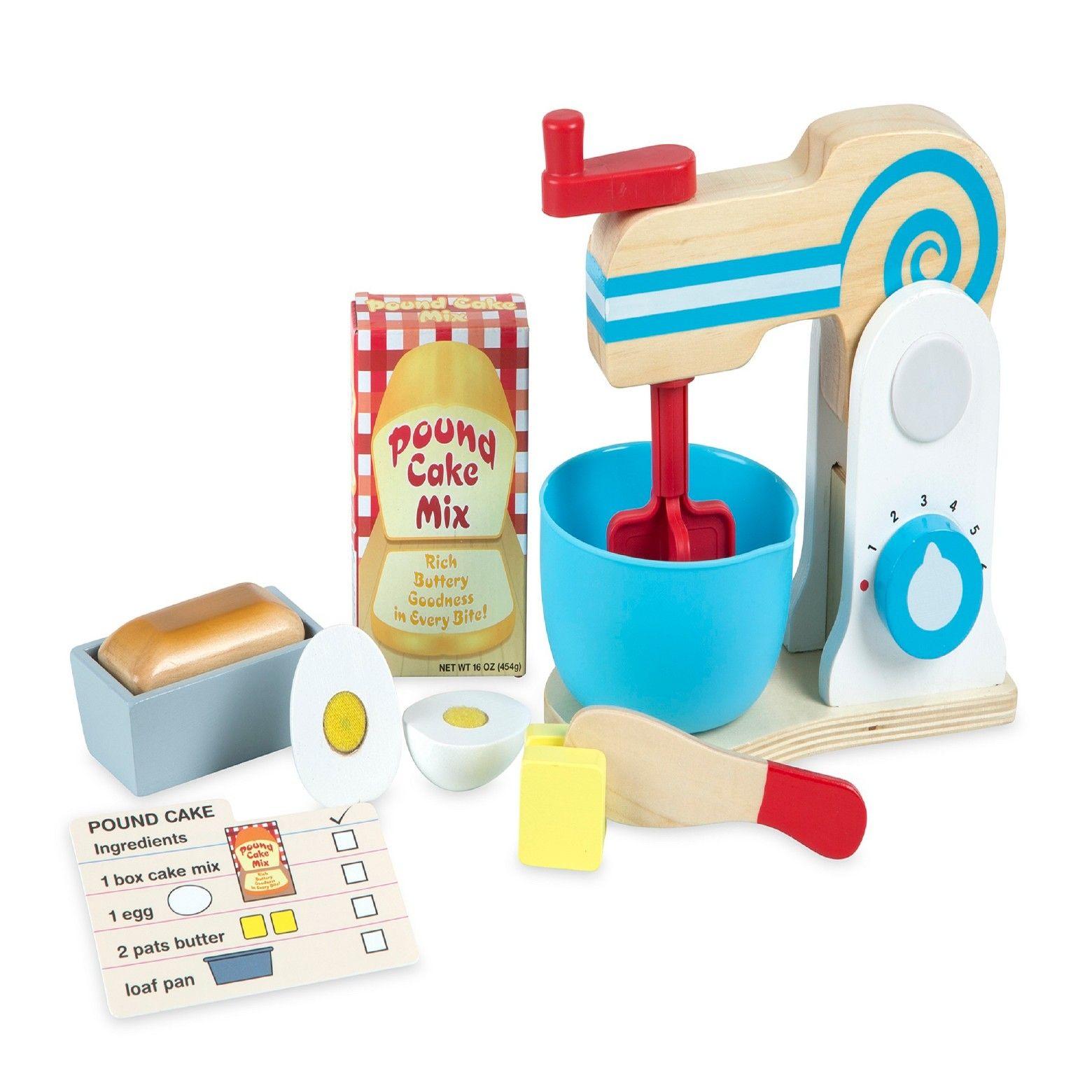 Melissa & Doug Mixer Set, Cooking and Dining Toys   Mixers