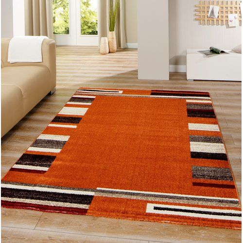 Marlow Home Co Neil Orange Rug Products In 2019