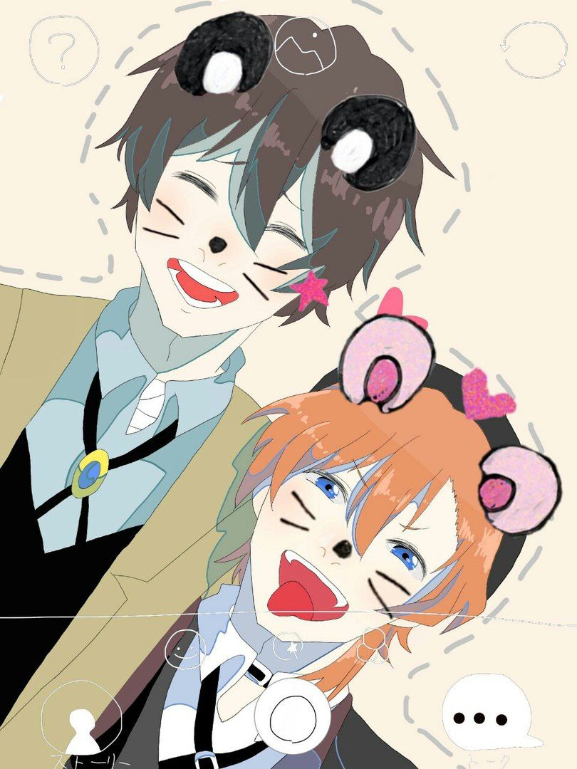 Omg ium dying them are so cute Бродячие песики bungou stray