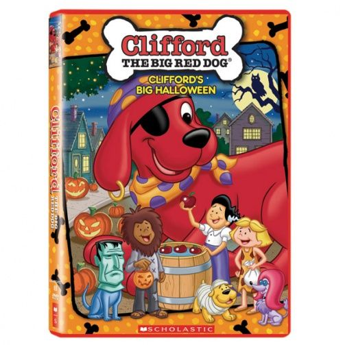 Clifford Big Red Reader: The Big White Ghost by Norman Bridwell and Gail Herman (2003, Paperback)