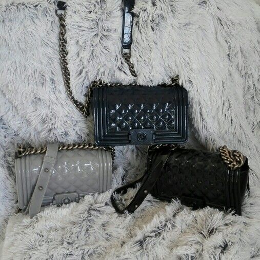 In absolute love with our Chanel Boy Flap inspired bag. Available online www.jewelsandlace.com