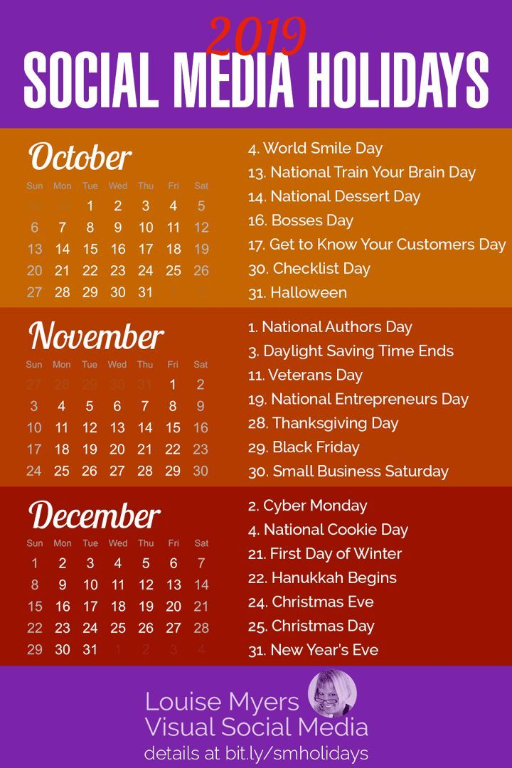 84 Social Media Holidays You Need in 2020 Indispensable