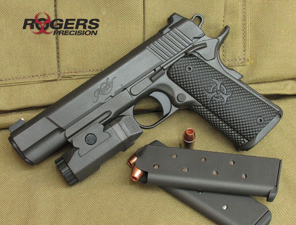 Rogers Precision - Kimber Warrior | Guns | Hand guns, Guns, Survival