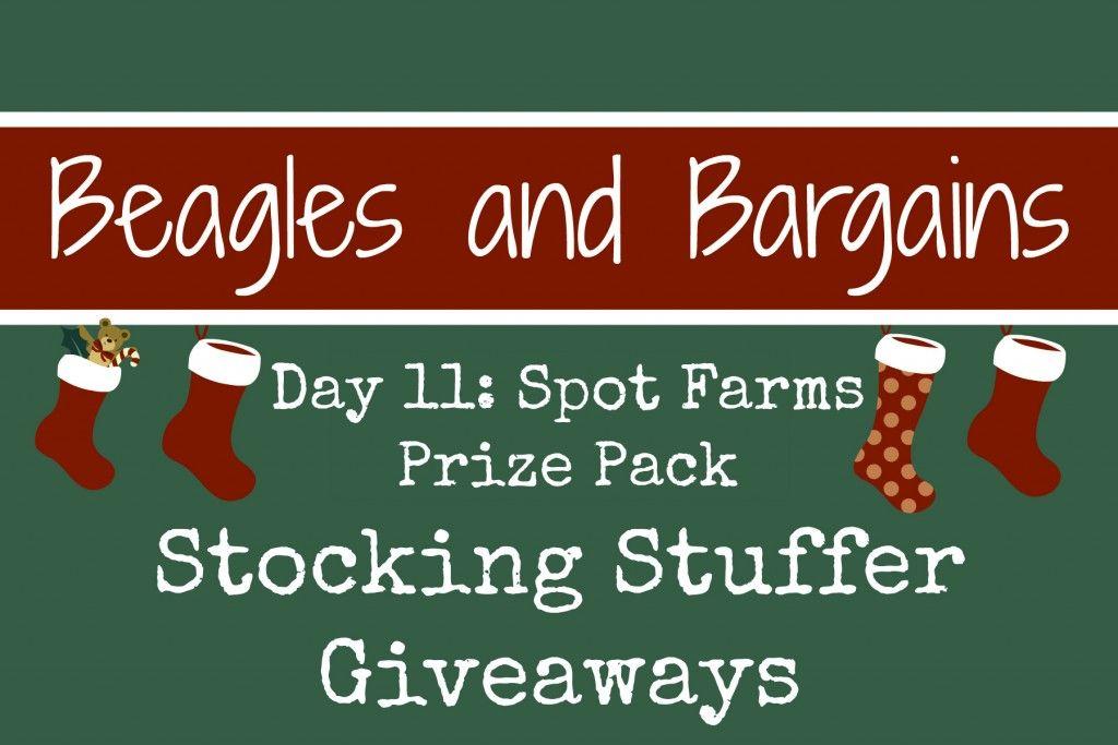 Stocking Stuffer Giveaway Day 11: Spot Farms Prize Pack #ad #StockingStufferGiveaways #SpotFarms | http://www.beaglesandbargains.com/stocking-stuffer-giveaway-spot-farms-chicken/