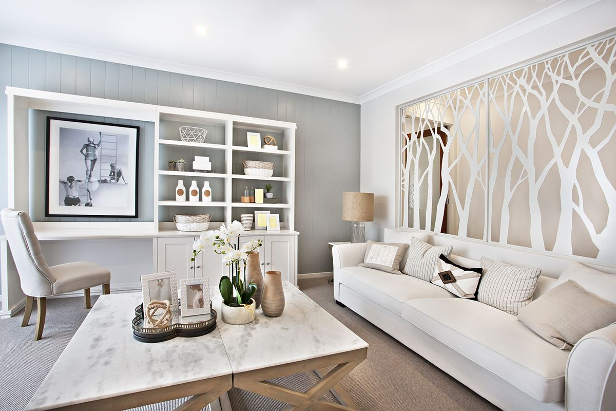 South Hamptons inspired living room at the Denver in Ballina, NSW ...