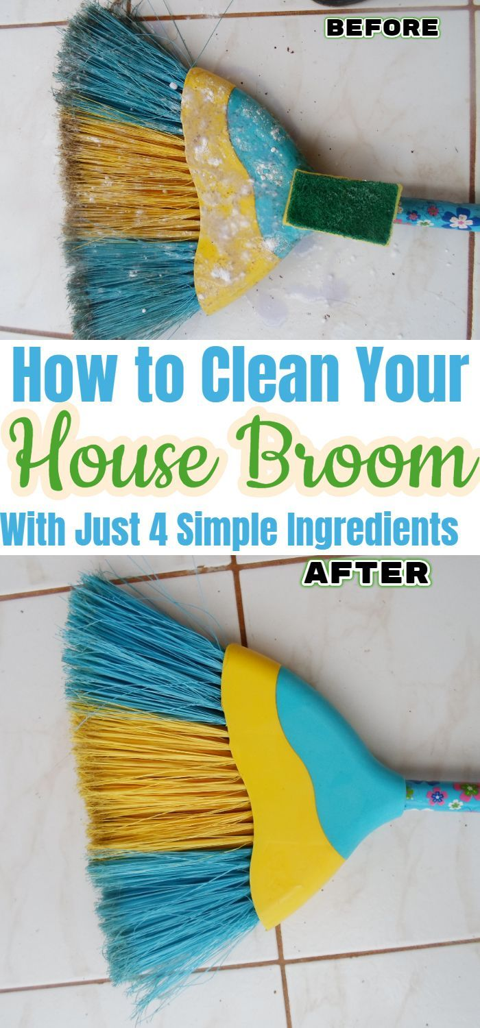 Use These Simple Ingredients To Get Your House Broom Pretty Again