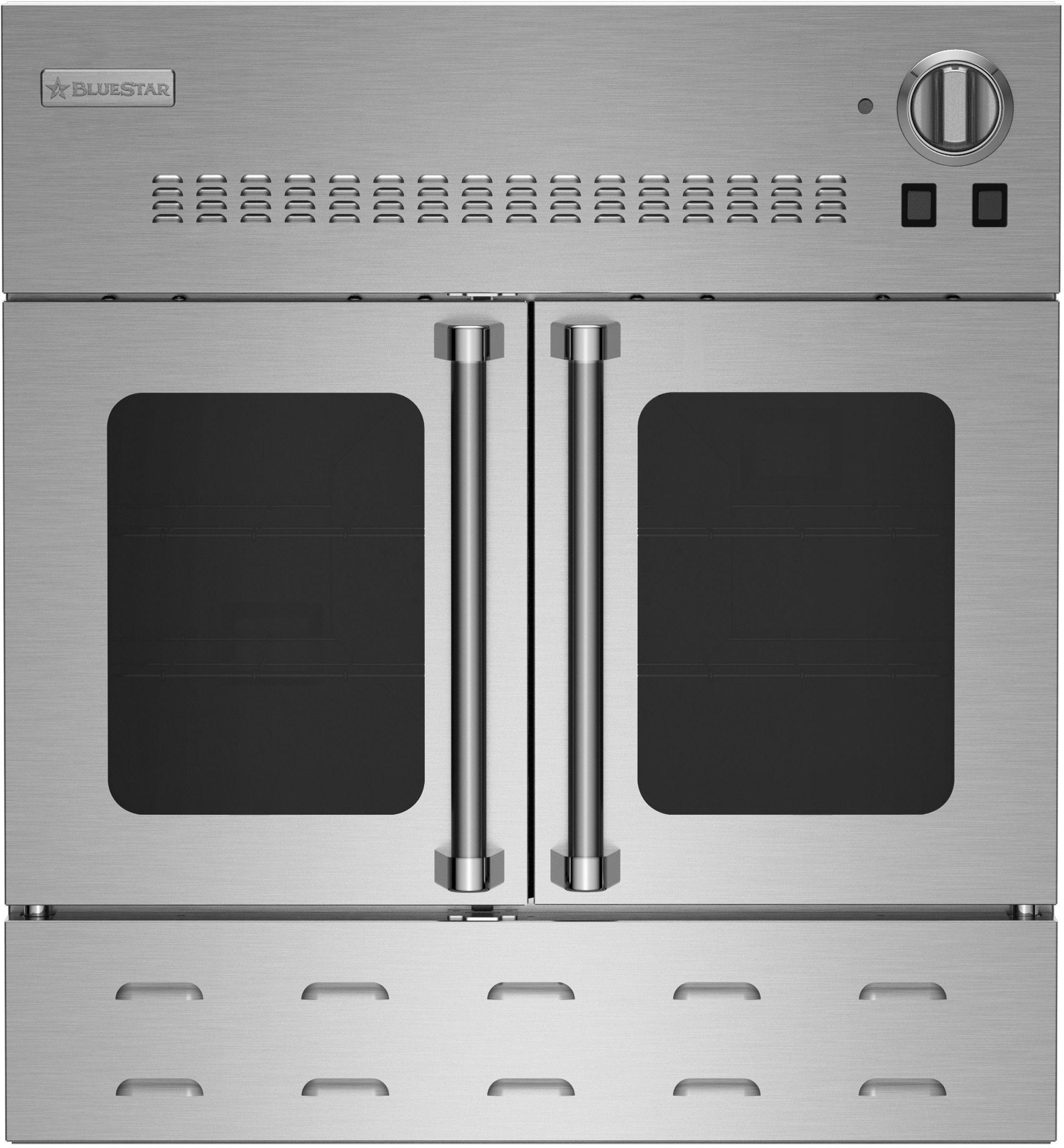 Bluestar 30 Single Gas Wall Oven Custom Colors Bwo30agsng In 2020 Gas Wall Oven Oven Racks Single French Door