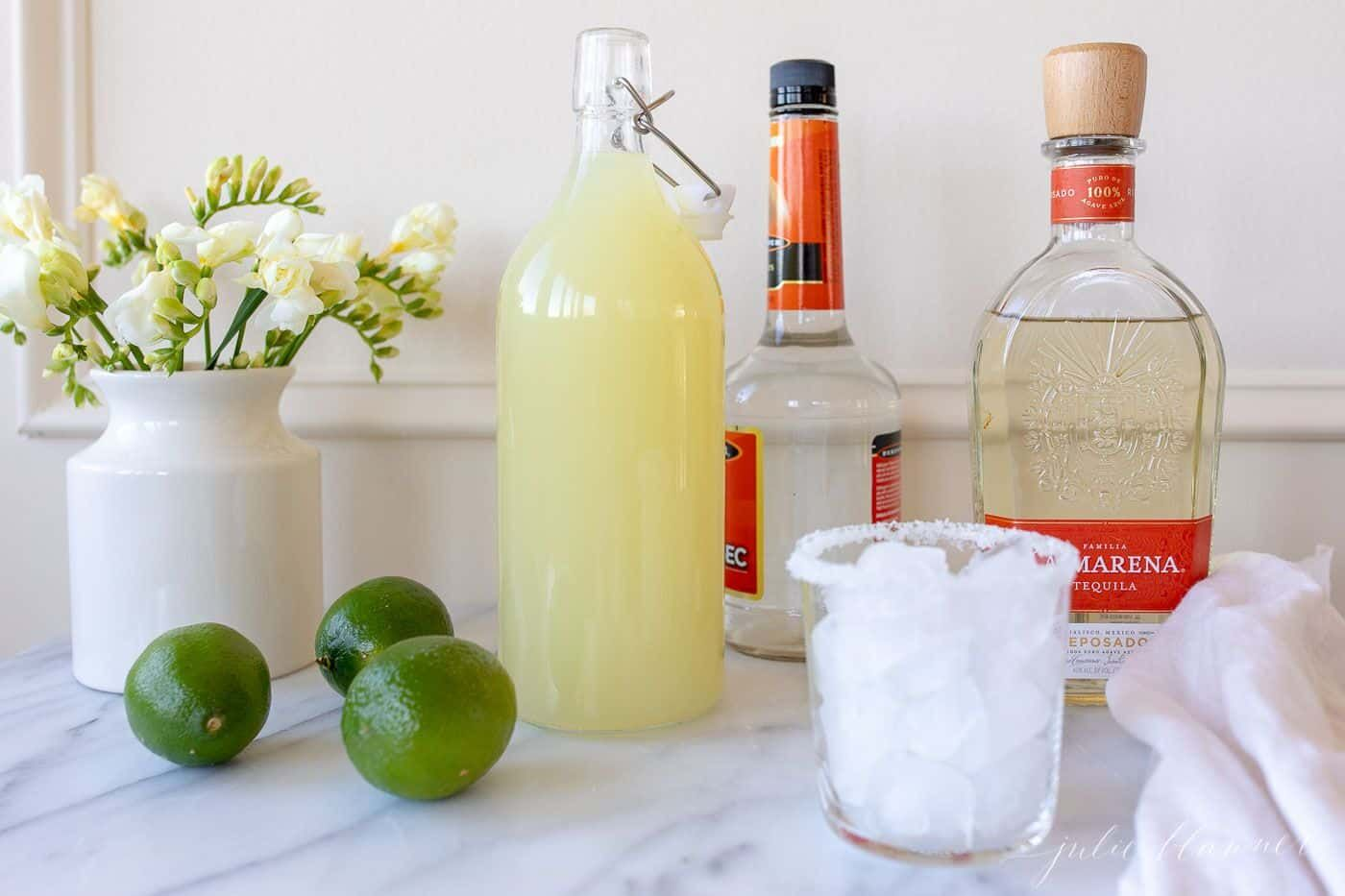 Fast & EASY Homemade Margarita Mix | Julie Blanner