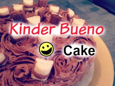 Recette Kinder Bueno Cake