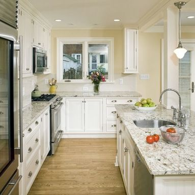 White Galaxy Granite Home Design Ideas, Pictures, Remodel and Decor ...