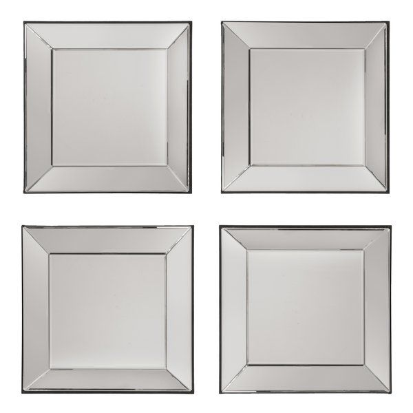 Decorative Square Wall Mirror Wall Mirrors Set Mirror Decor Mirror Wall Bedroom