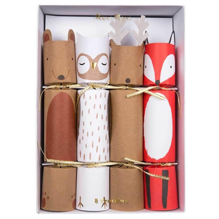 Woodland Holiday Crackers