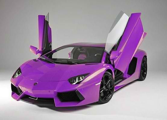 Purple Butterfly Doors Cars Cars Lamborghini Cool Sports Cars