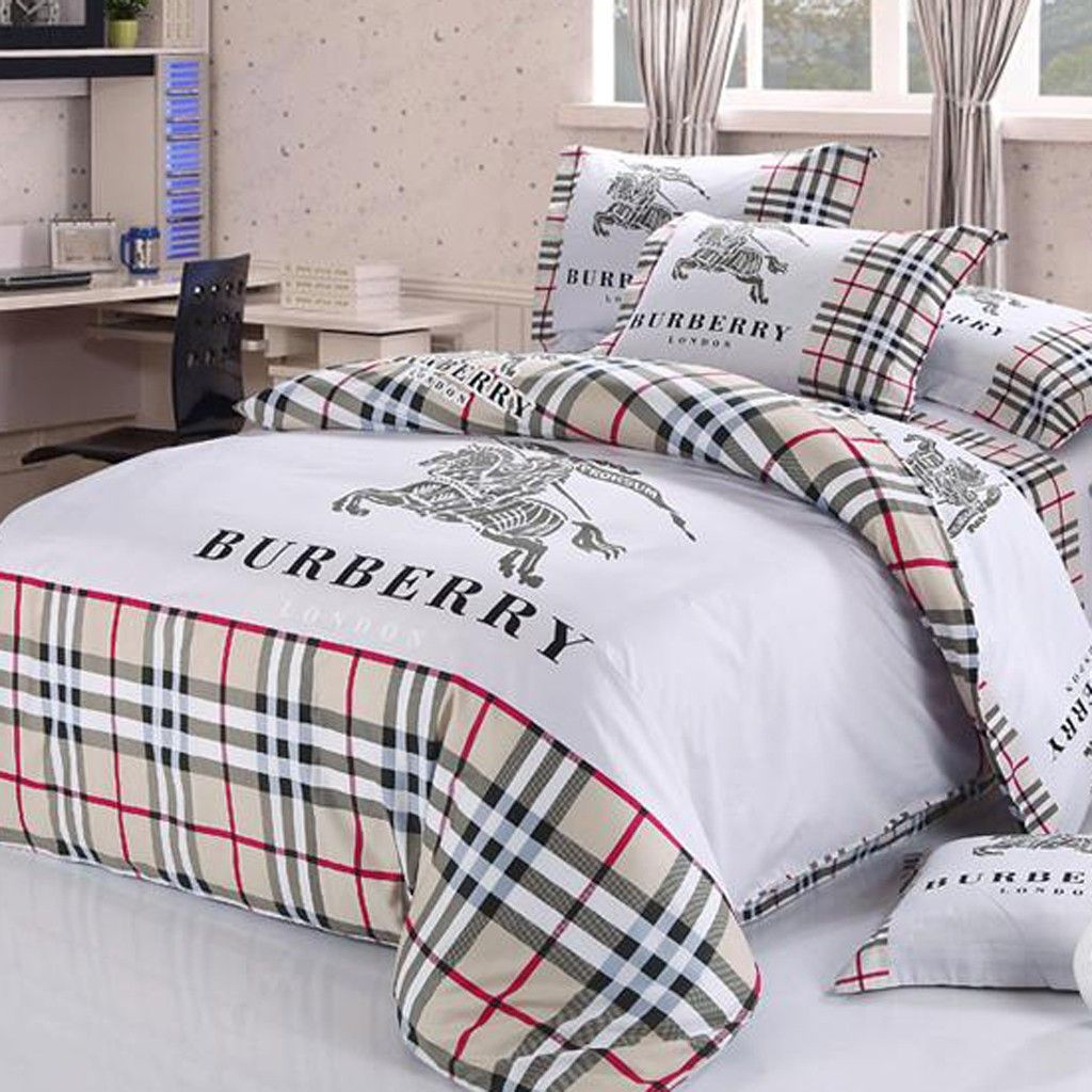Burberry Duvet Cover Set....love this! Duvet cover sets