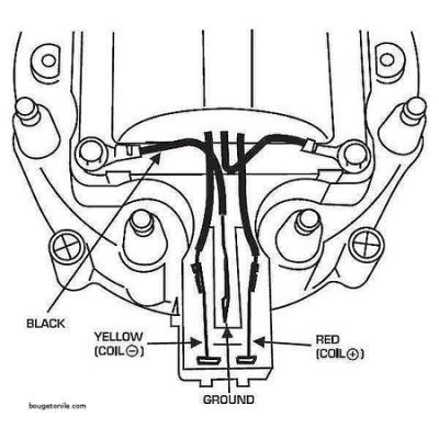 Gm Hei Distributor External Coil Wiring Diagram