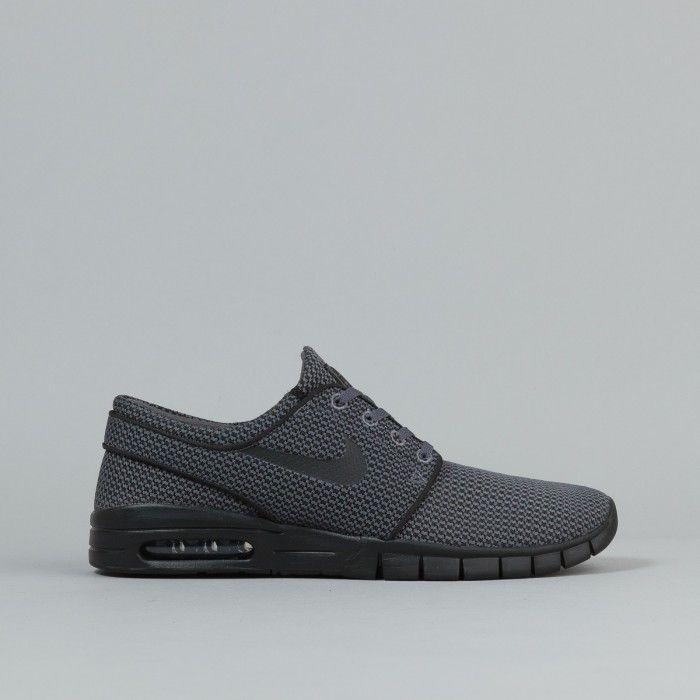 Nike SB Stefan Janoski Max Shoes - Dark Grey / Black