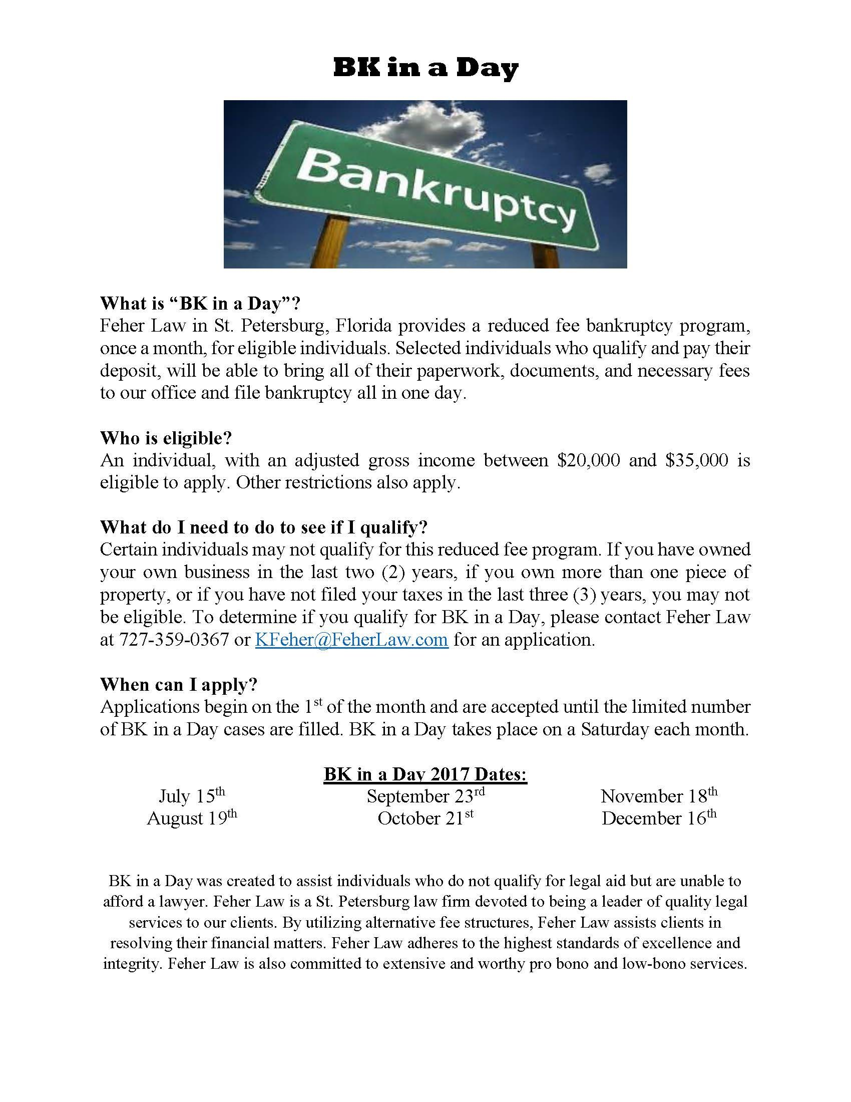 Low Cost Bankruptcy Clinic For Residents Of St Petersburg Fl And Neighboring Areas Bankruptcy Chapter 13 Petersburg