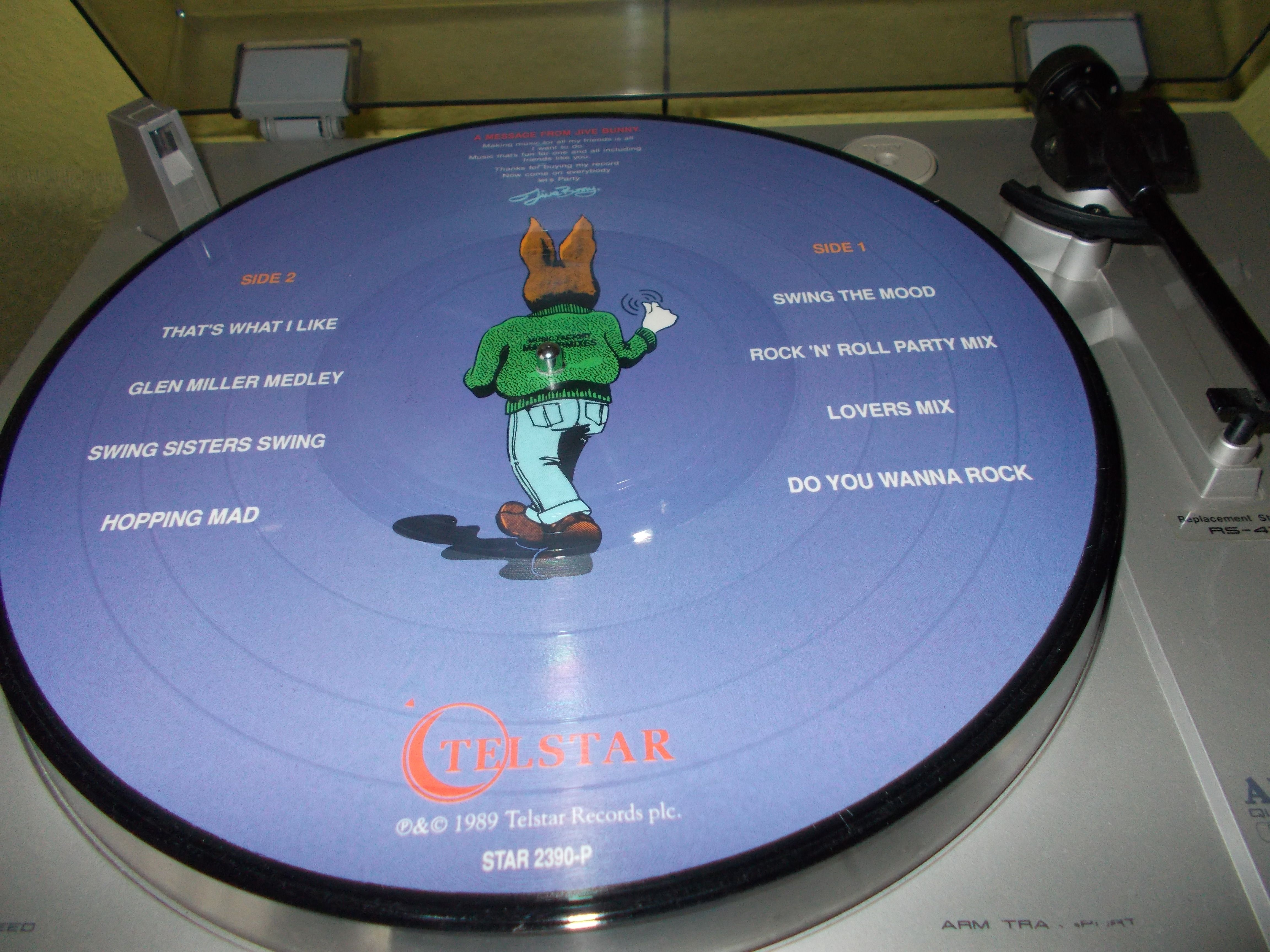 Jive Bunny Amp The Mastermixers Quot The Album Quot Teslar 1989