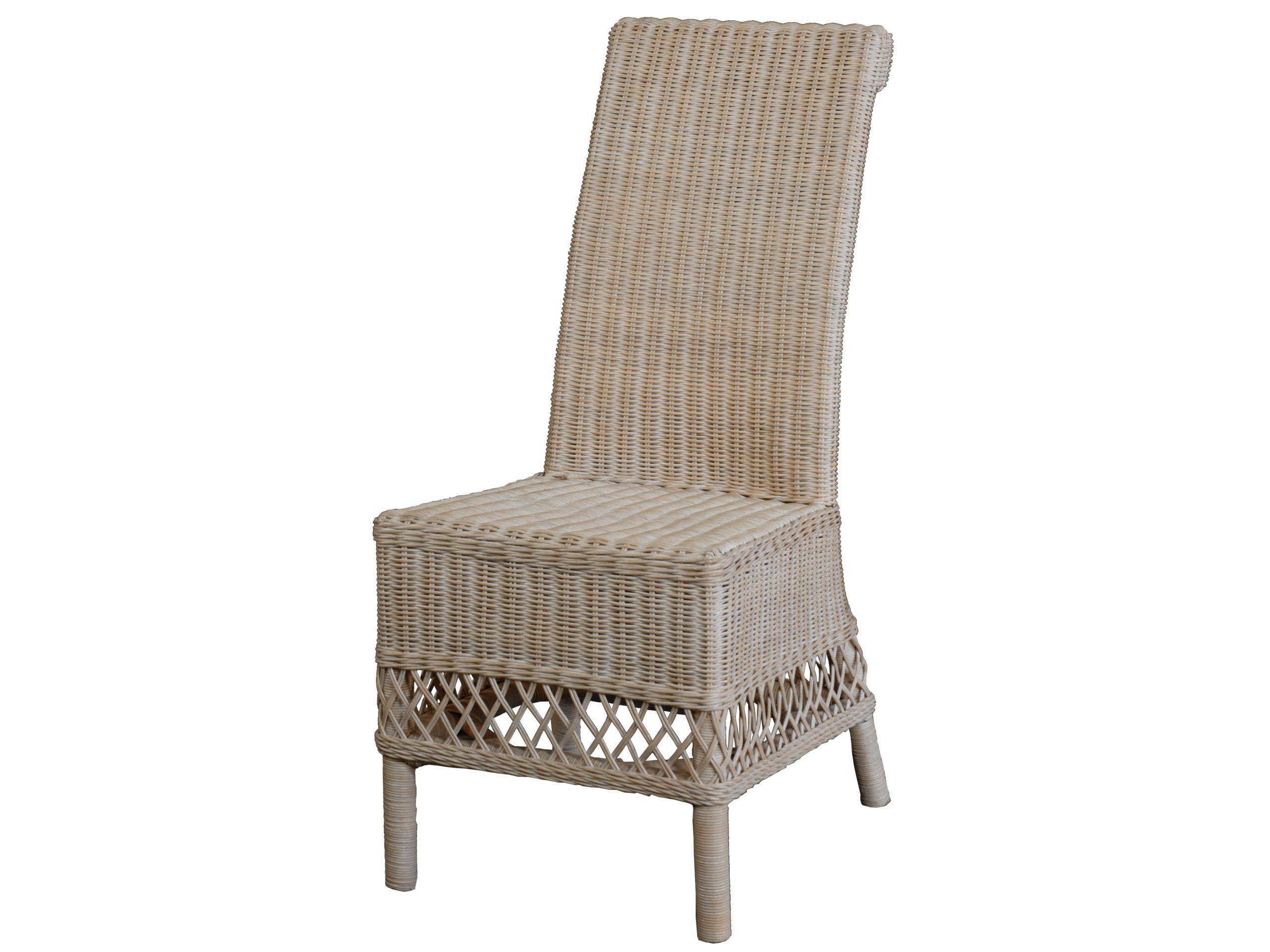Esszimmerstuhl Rattan Weis ~ Esszimmerstuhl luis vintage weiss esszimmerstühle aus rattan und