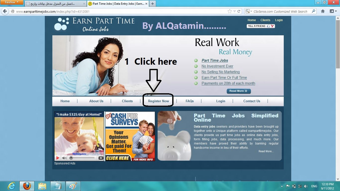 check out this great work at home opportunity website
