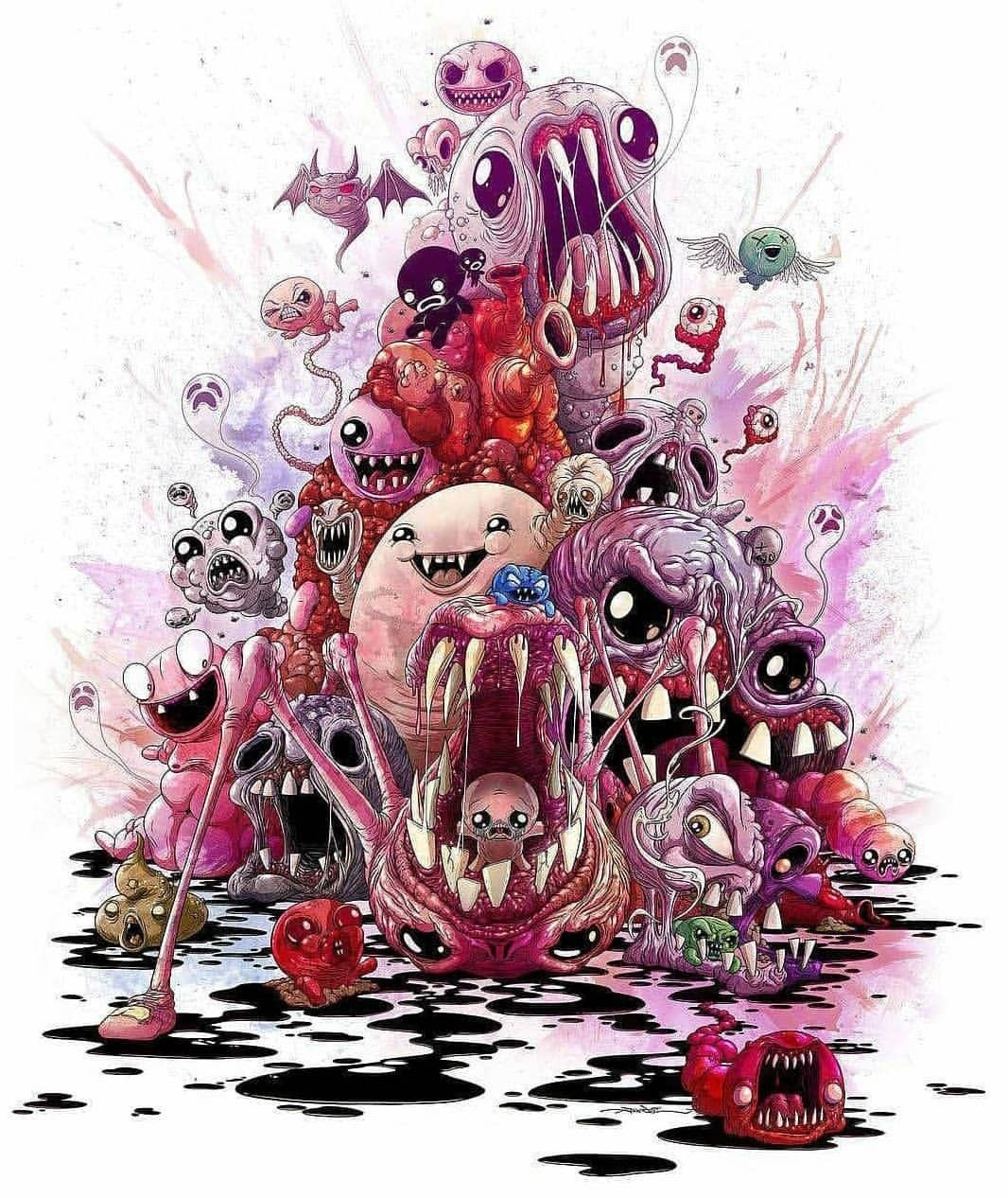 The Binding Of Isaac, Alex Pardee, Isaac