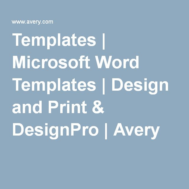 Templates Microsoft Word Templates Design And Print Designpro