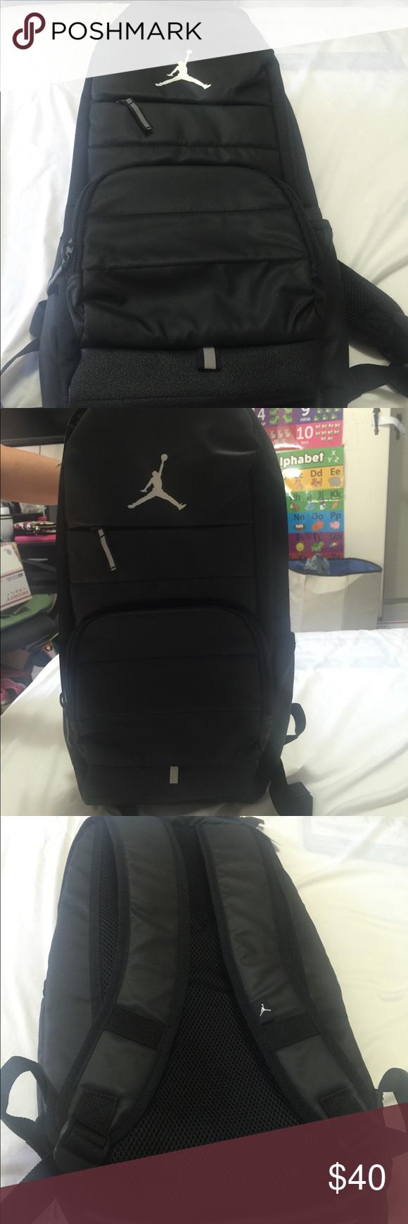 0800af9e68 Jordan Unisex All World Backpack Black Jordan Backpack Black- Adjustable  straps