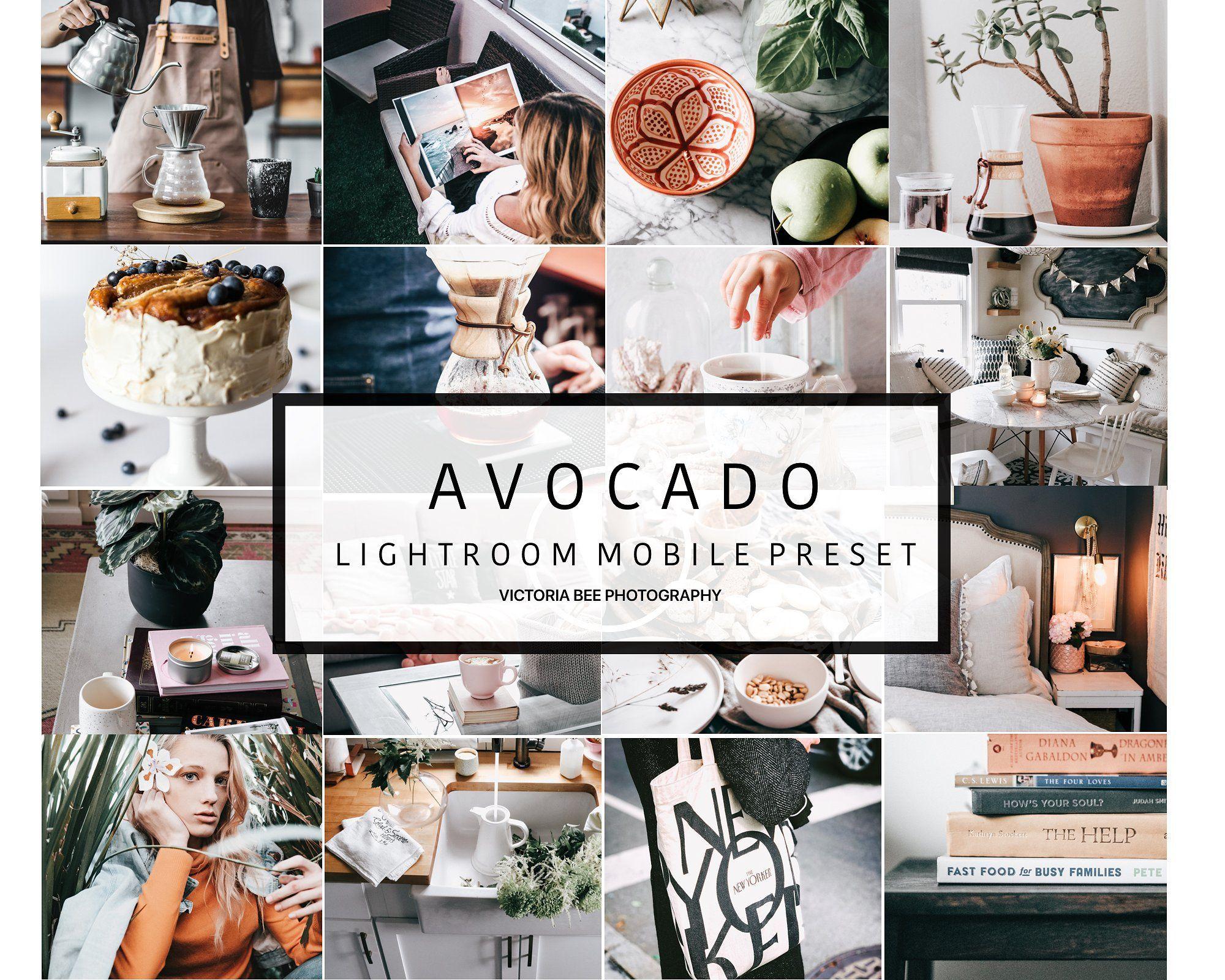 Avocado Mobile Lightroom Preset. This preset includes a