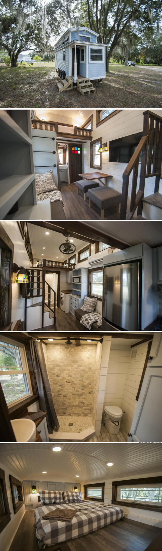 A stunning luxury tiny house for sale