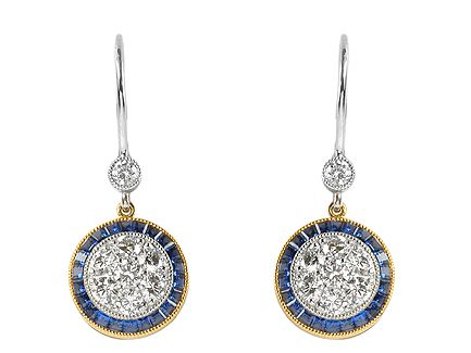 Lucie Campbell Has A Wide Selection Of Shire Diamond Earrings At Our Bond St White Yellow Gold Cer Drop