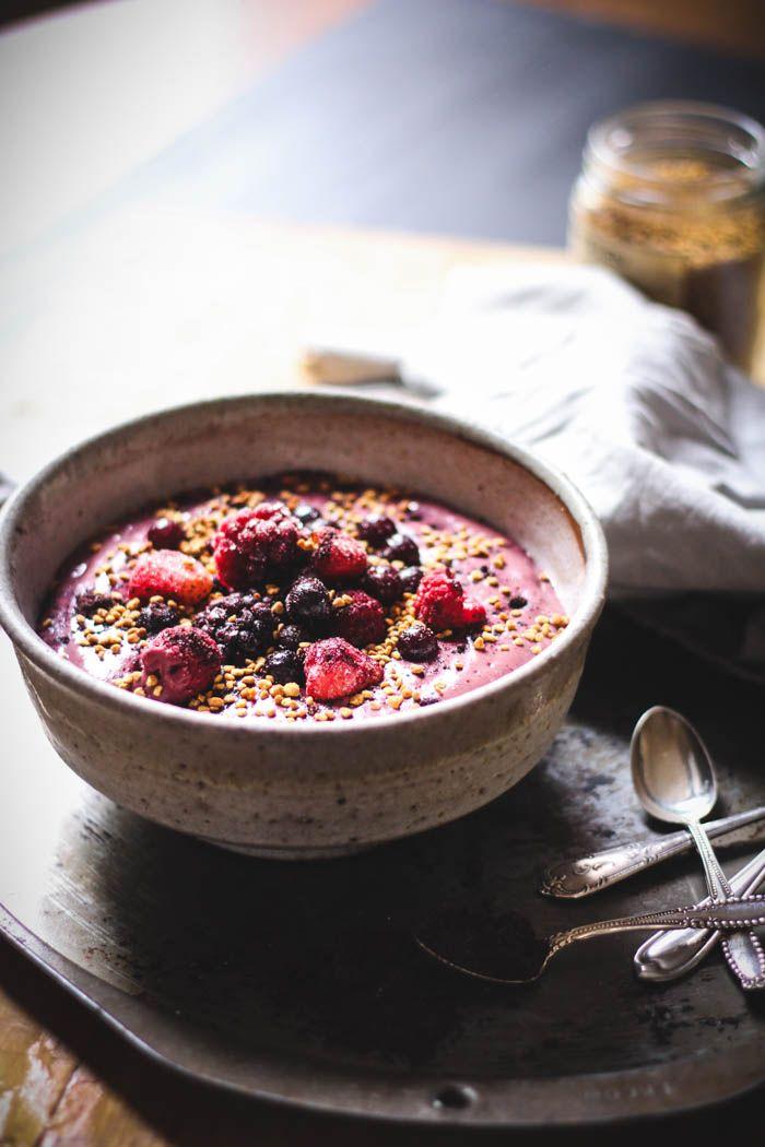 Maqui Berry Bowl Receta Recetas Cocinas