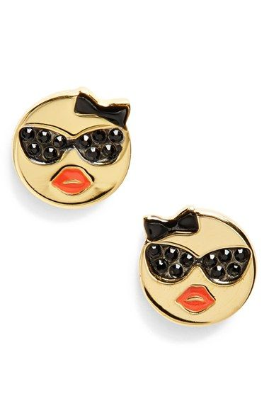 Kate Spade New York Tell All Emoji Stud Earrings Nordstrom