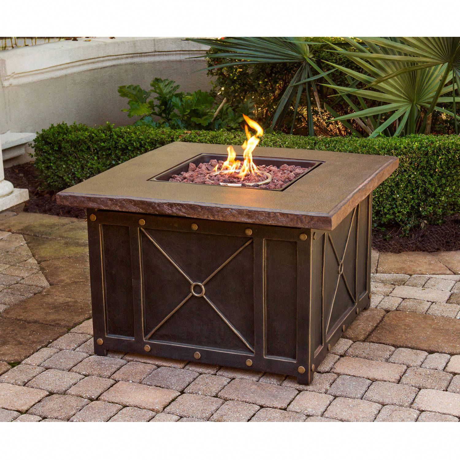 Patio furniture sets clearance 4pc gas fire pit heater table sofa rocking chairs ebay pergola10x20