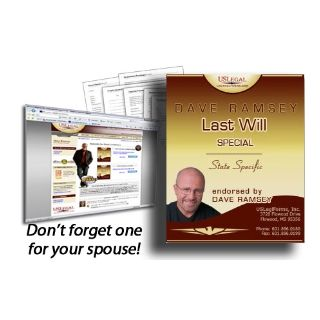 Us Legal Forms Dave Ramsey Last Will Testament Dave Ramsey
